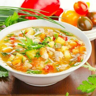 Vegetable Soup 16oz.