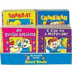 Assorted Board Books Display (w/Chanukah)
