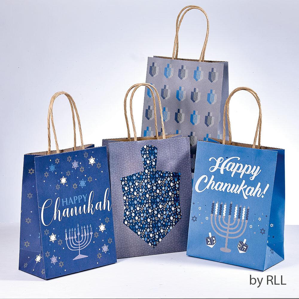 CHANUKAH GIFT BAGS SET OF 4
