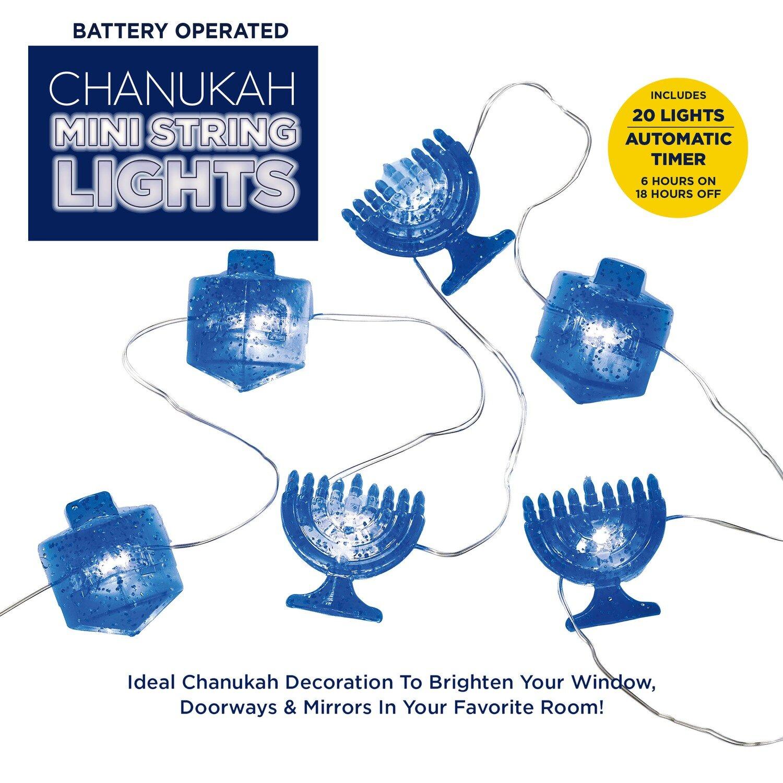 CHANUKAH MINI STRING LIGHTS