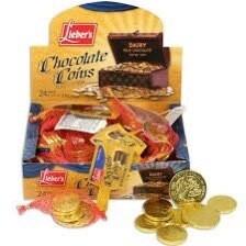 Chanukah Gelt - Chocolate Coins Dairy 24 Bags