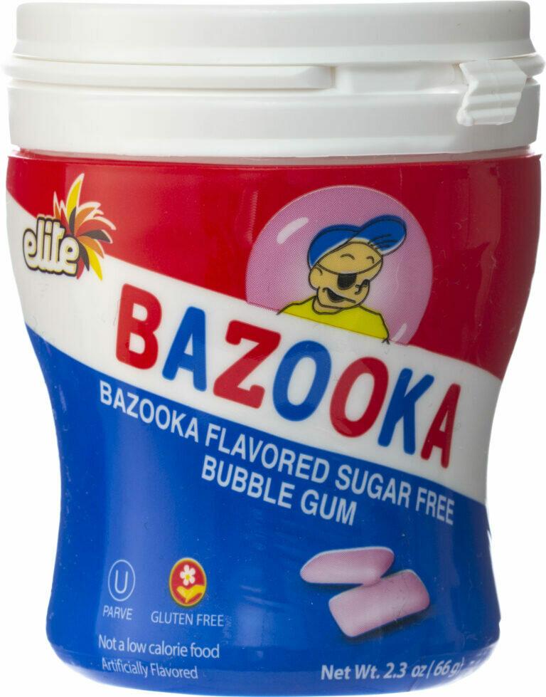 Bazooka Bubble Gum 2.3oz  Elite Y