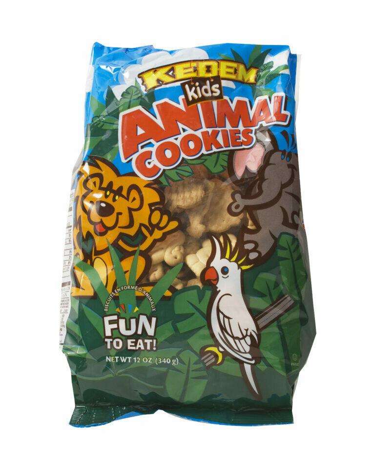Kids Animal Cookies 12oz Kedem Y