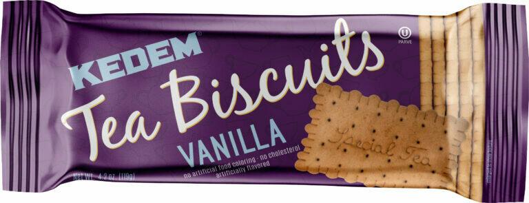 Tea Biscuit Vanilla 4.2oz Kedem Y