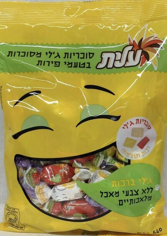 Geli Fruit Flavored Candies 19oz Elite