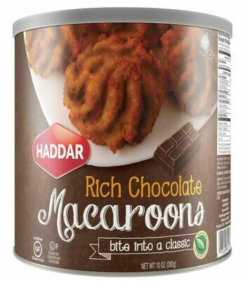 Macaroons  Chocolate  10oz Haddar KP