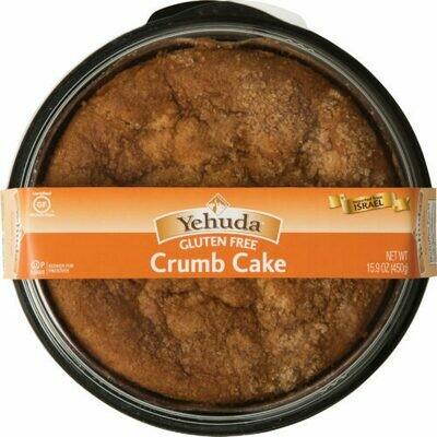 GF Crumb Cake 15.9oz Yehuda KP