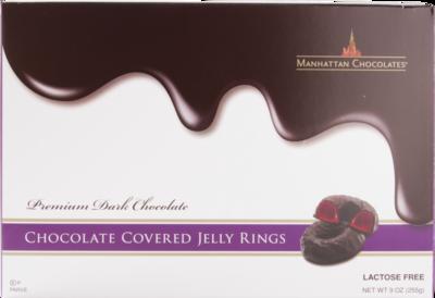 Jelly Rings Gift Box Raspberry 9oz Manhattan KP