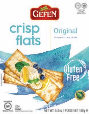 Original Crisp Flats  GF 5.2oz. Gefen KP