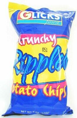 Rippled Potato Chips 6oz Glicks KP