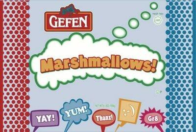 White Marshmallows 6.3oz Gefen KP