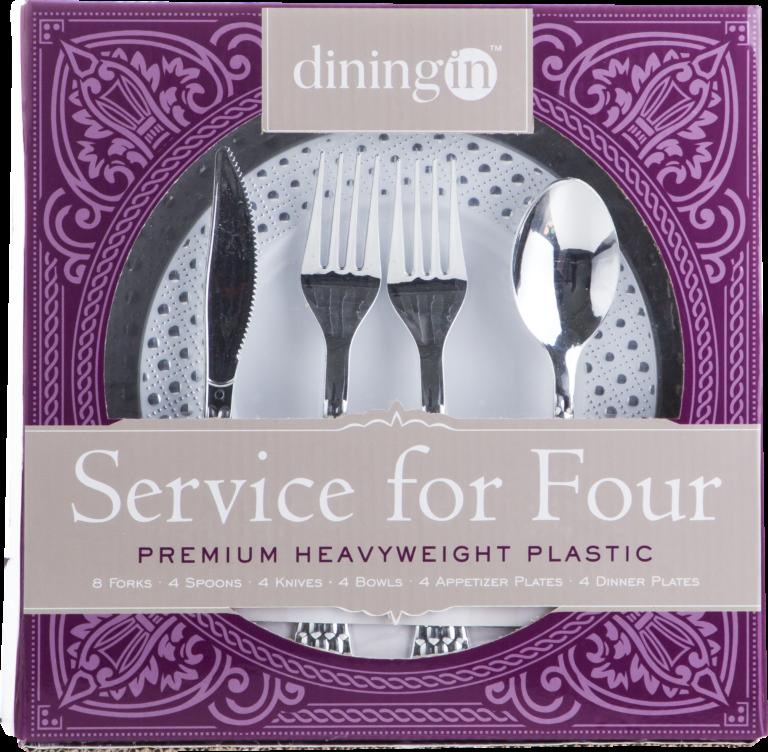 Dinning In - Plastic Dinner Set