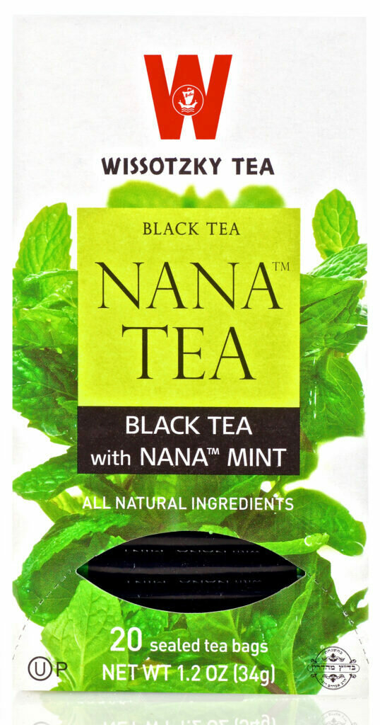 Wissotzky Nana Tea Black KP