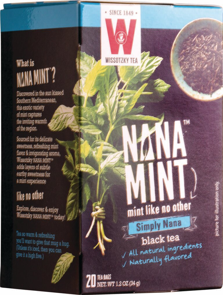 Wissotzky Simply Nana Mint Black Tea Y