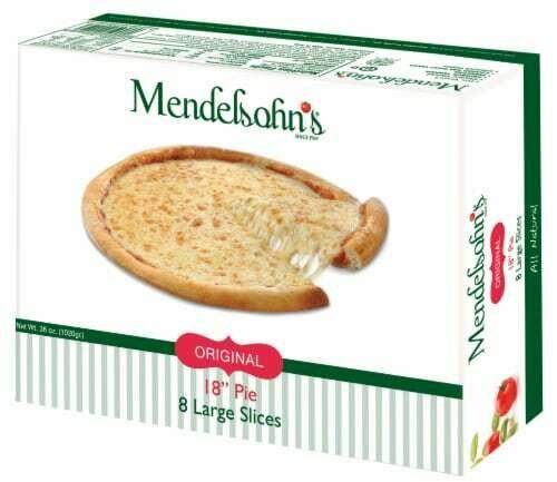 """Frozen Pizza 18""""  8QT Mendelsohns Y"""