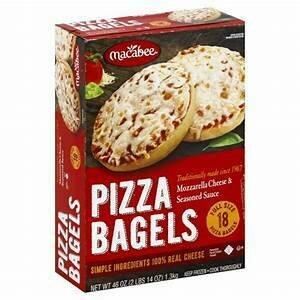 Macabee Pizza Bagel 3 pieces Y