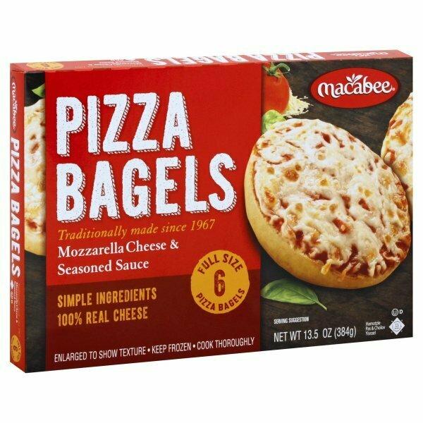 Macabee Pizza Bagels 6pcs Y