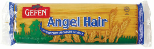 Angel Hair Spaghetti (16oz) Gefen Y