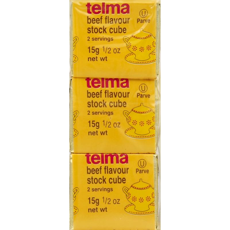 Beef Flavour Stock Cube  (1.5oz) Telma Y
