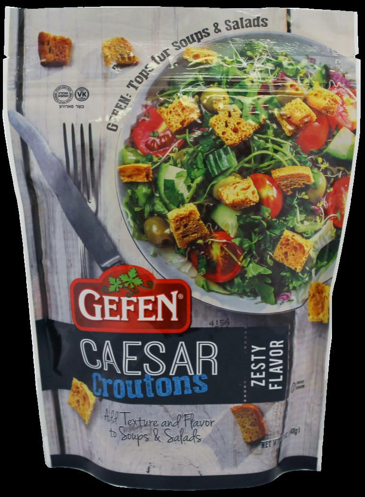 Caesar Salad Croutons 5.2oz Gefen Y