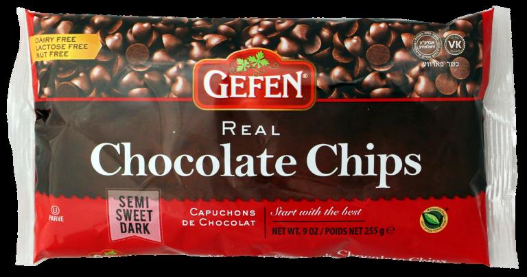 Chocolate Chips 9oz Gefen Y