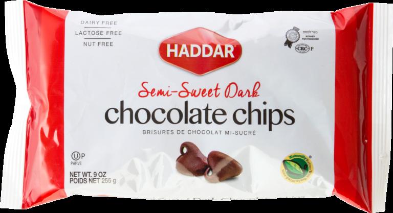 Chocolate Chips 9oz Haddar KP