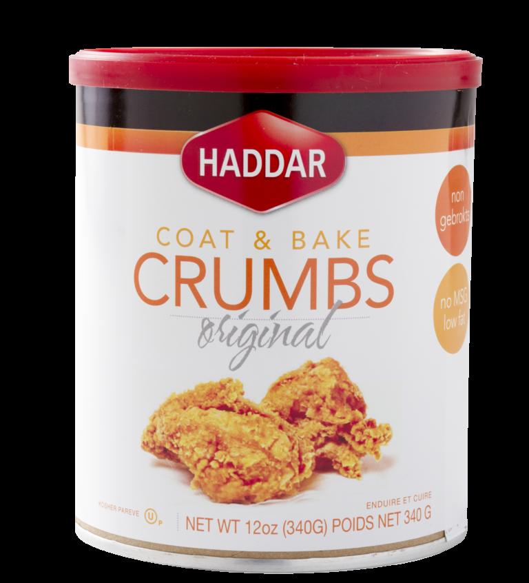Coat N Bake Crumbs  Original 12oz Haddar KP