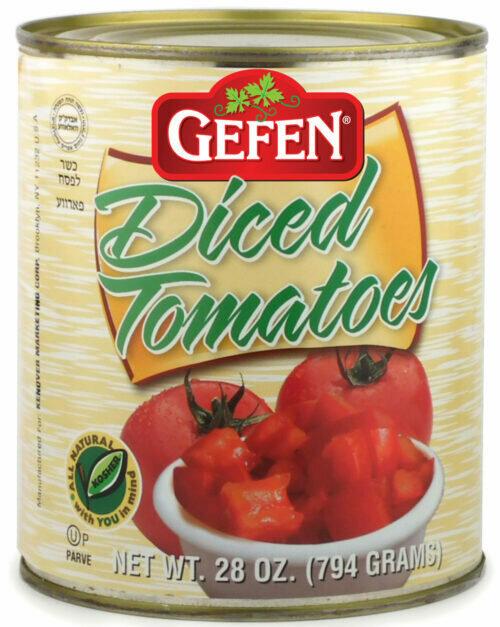 Diced Tomatoes 28oz Gefen KP