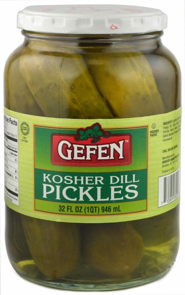 Dill Pickles 32oz Gefen Y