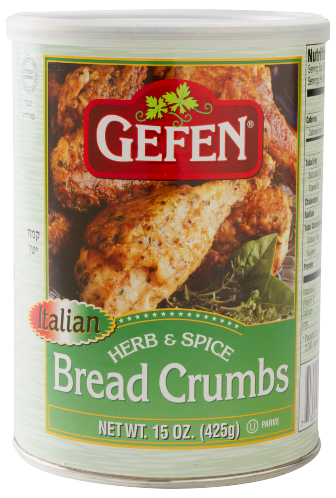 Flavored Bread Crumbs 15oz Gefen Y