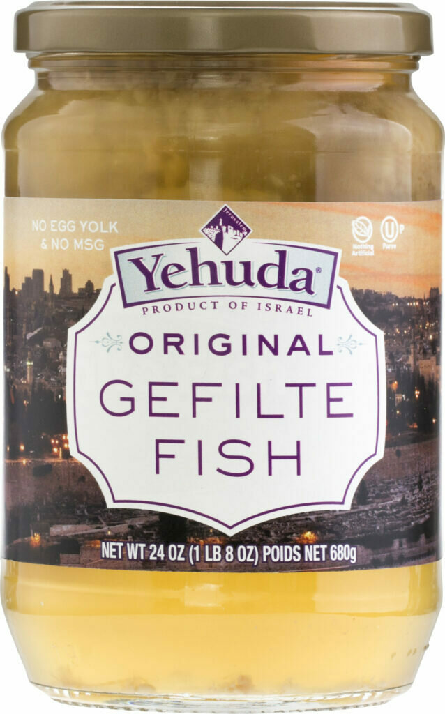 Gefilte Fish Original 24oz Yehuda KP