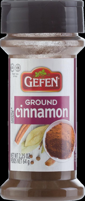 Ground Cinnamon  2.25oz  Gefen KP