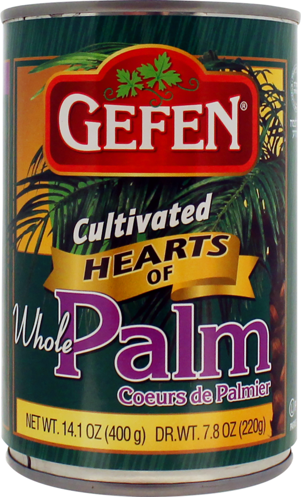 Hearts of Palm  Whole 14.1oz Gefen KP