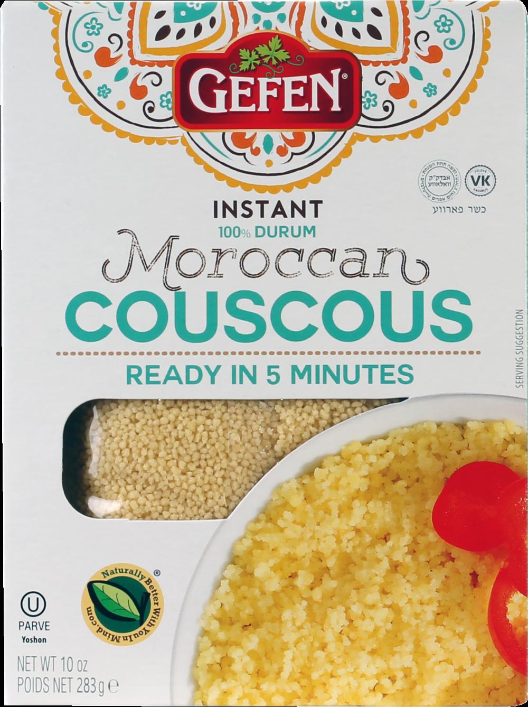 Instant Moroccan Couscous 10oz Gefen Y
