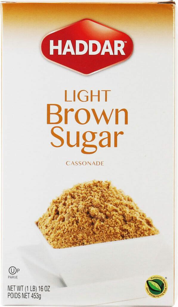 Light Brown Sugar 16oz Haddar KP