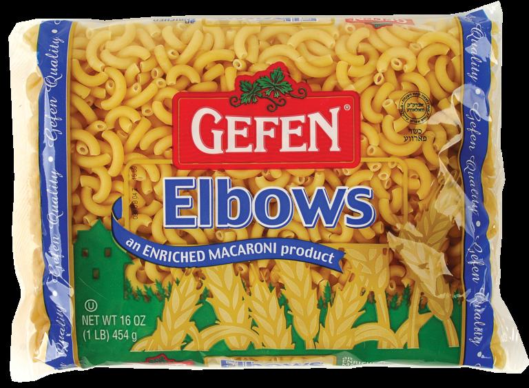 Macaroni Elbows 16oz Gefen Y