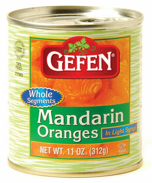 Mandarine Oranges Whole 11oz Gefen KP