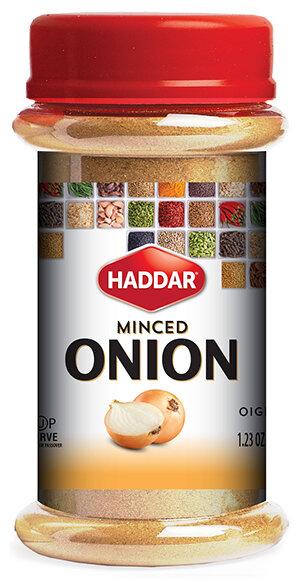 Minced Onion 1.23oz Haddar KP