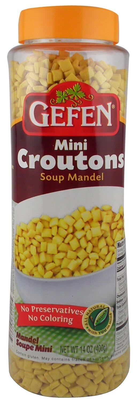 Mini Soup Mandels 14oz Gefen Y