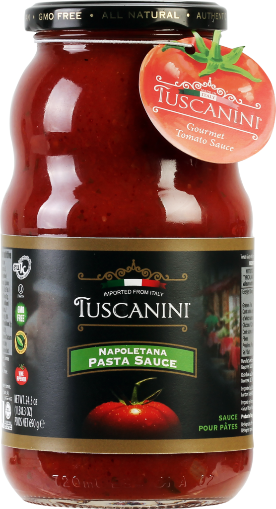 Napoletana Pasta Sauce 24.3oz Tuscanini KP