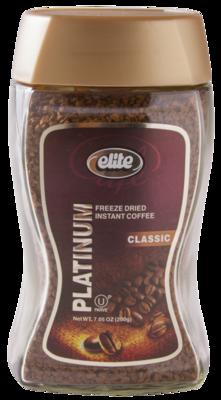 Instant Platinum Coffee 7oz  Elite KP