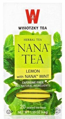 Wissotzky Nana Lemon Tea KP