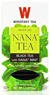Wissotzky Nana Tea Black KP