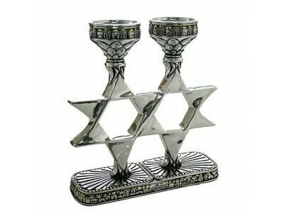 Candles Star of David