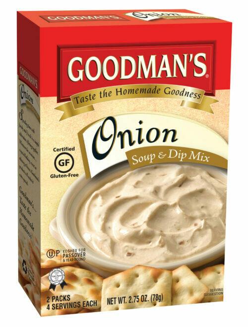 Onion Soup - Dip Mix 2.75oz Goodmans KP