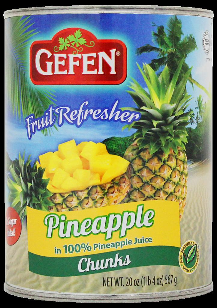 Pineapple Chunks (20oz) Gefen KP