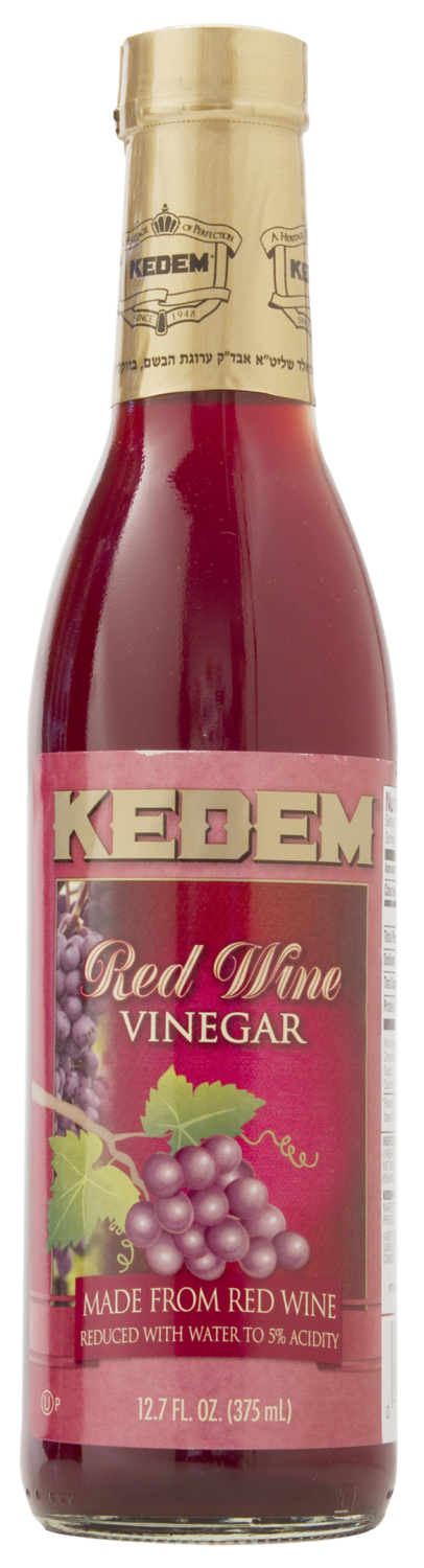 Red Wine Vinegar 12.7oz Kedem KP