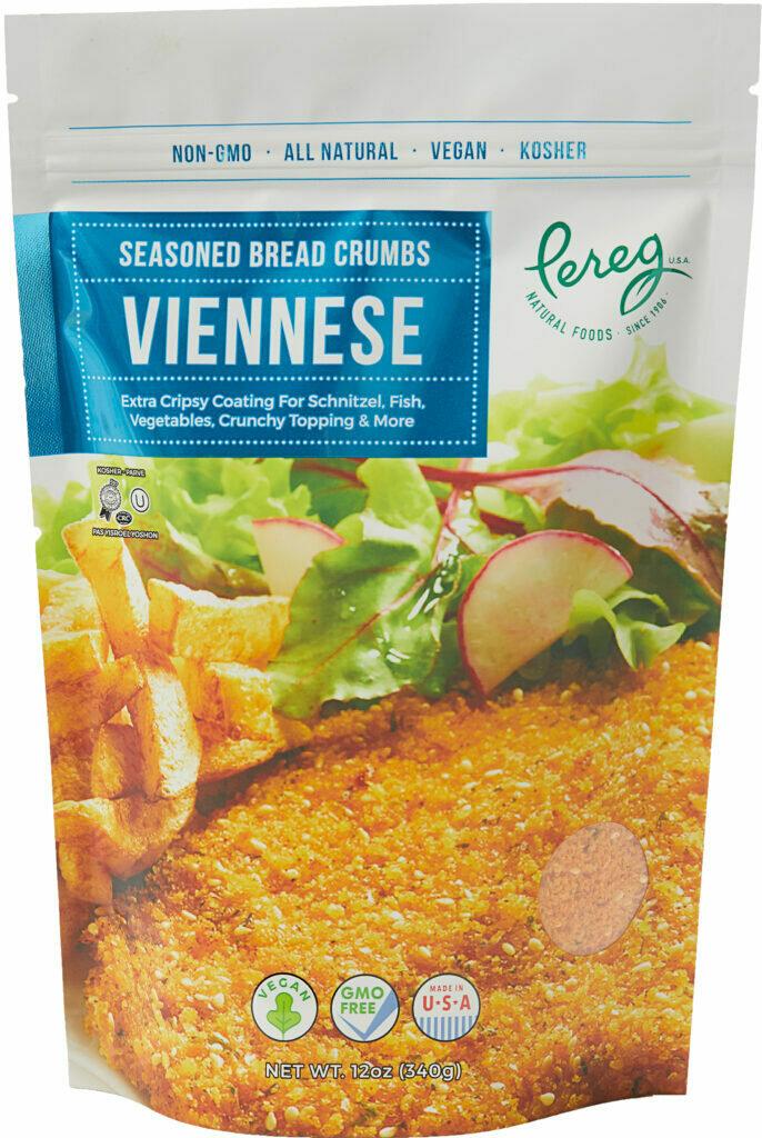 Seasoned Bread Crumbs Viennese 12oz Pereg Y