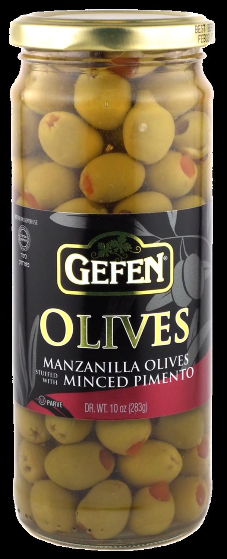 Stuffed Manzanilla Olives #3720 10oz Gefen Y