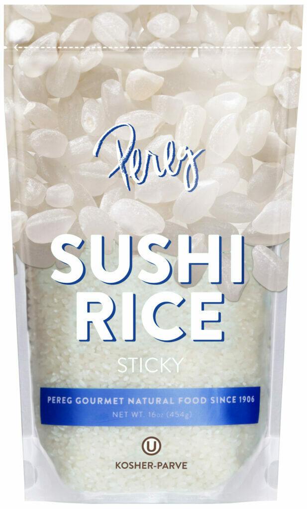Sushi Rice (16oz) Pereg Y